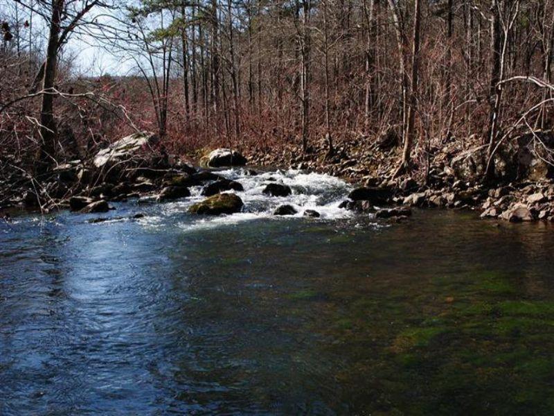 Acreage On Wolf Bayou : Mountain View : Stone County : Arkansas