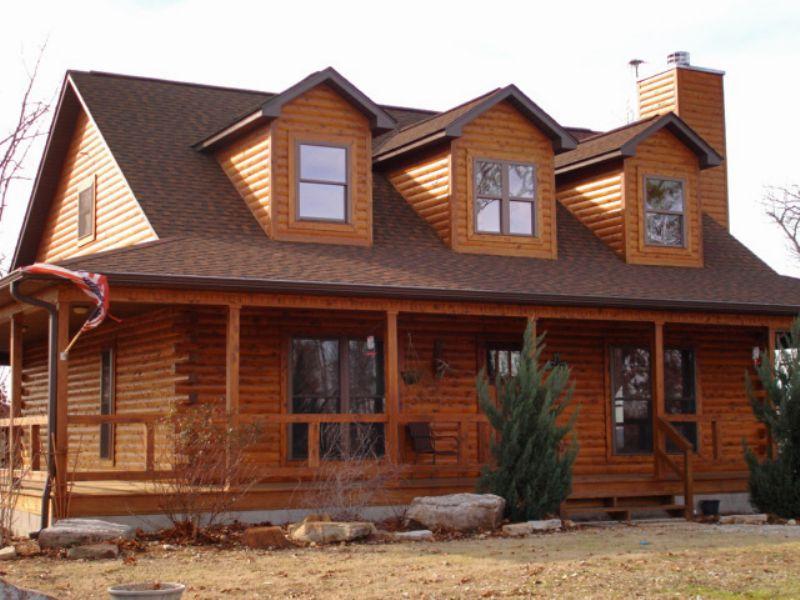 Log Home - 11.34 Acres - Big Views : Melbourne : Izard County : Arkansas