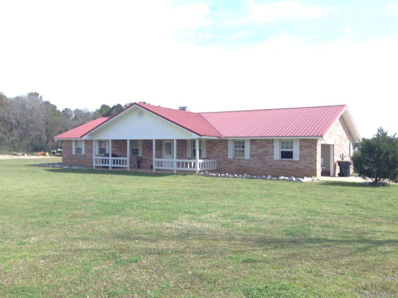 Chicken Houses In Brantley : Brantley : Crenshaw County : Alabama