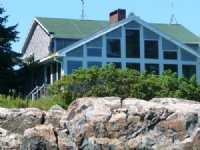 Loon Point Oceanfront Home +acreage