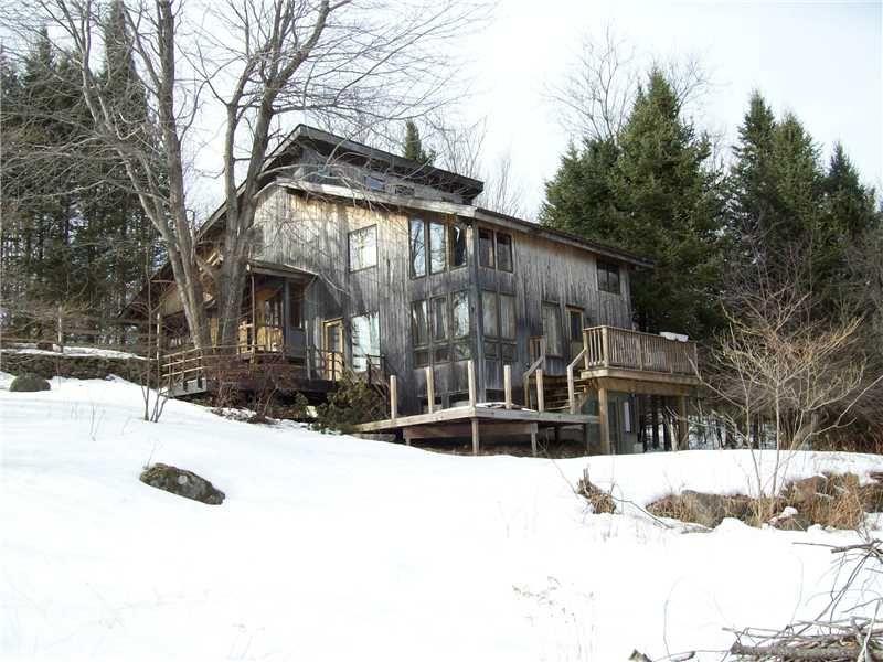 Prescott Hill Contemporary : Liberty : Waldo County : Maine