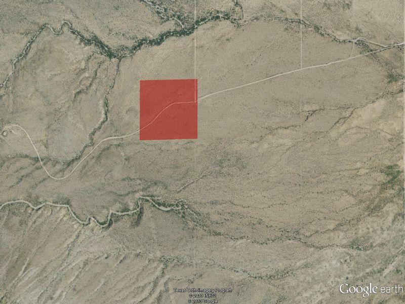 10 Acre Lot Near Van Horn : Van Horn : Culberson County : Texas