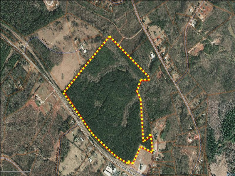 97 Acres Industrial / Commercial : Sparanburg : Spartanburg County : South Carolina