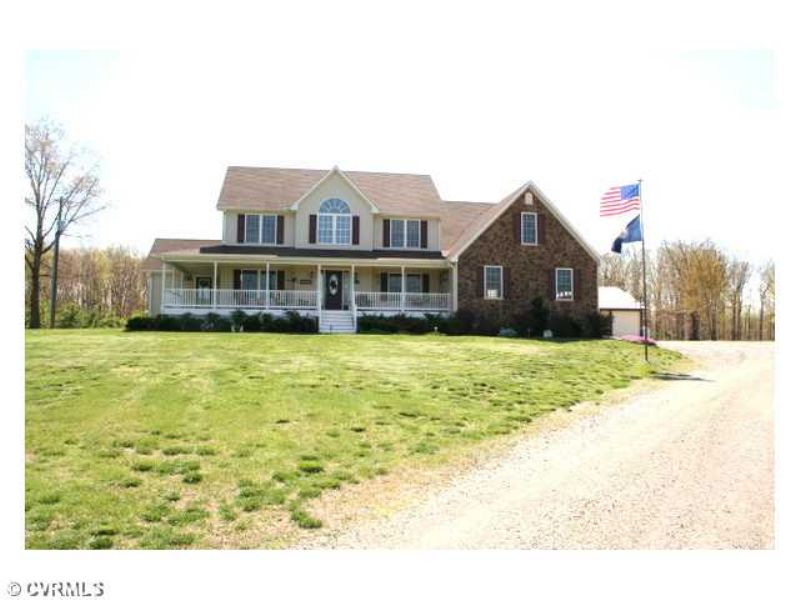 1073 Ampthill Rd 19.83 Acres & Pond : Cartersville : Cumberland County : Virginia