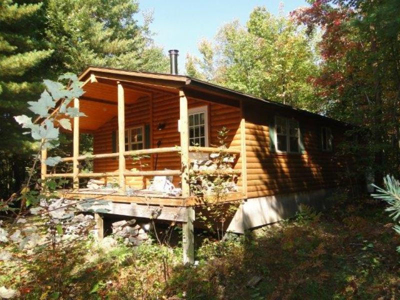 Cabin Near State Forest 73 Acres : Greig : Lewis County : New York