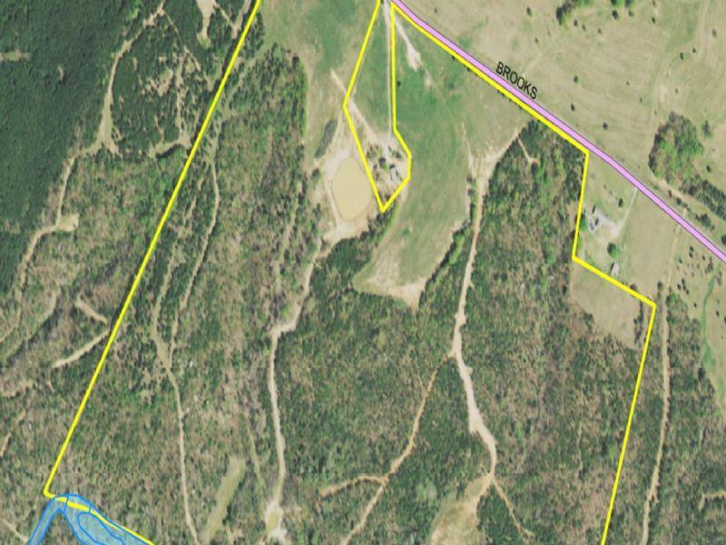 +/- 109 Acre Gentlemans Farm : Honea Path : Abbeville County : South Carolina