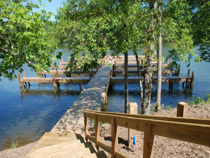 Waterfront Lots On Lake Tillery, Nc : Mount Gilead : Montgomery County : North Carolina