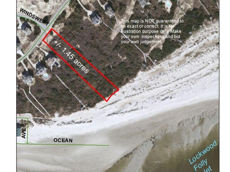 Waterfront Lots Nc Coast : Holden Beach : Brunswick County : North Carolina