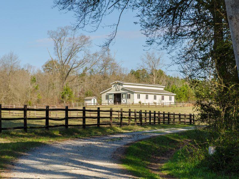 Stanton Hill Farm : Cameron : Moore County : North Carolina
