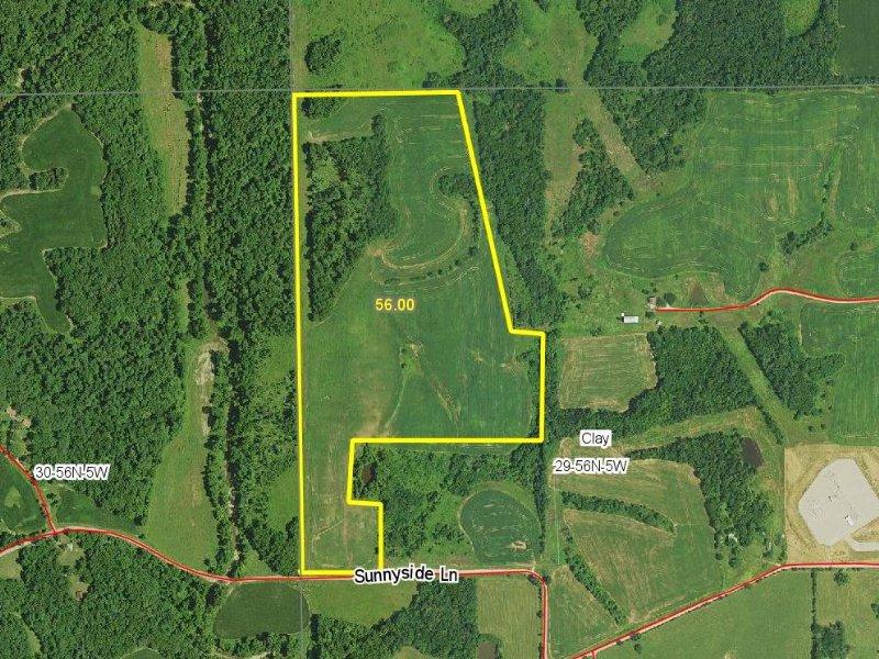 56 Acres : New London : Ralls County : Missouri