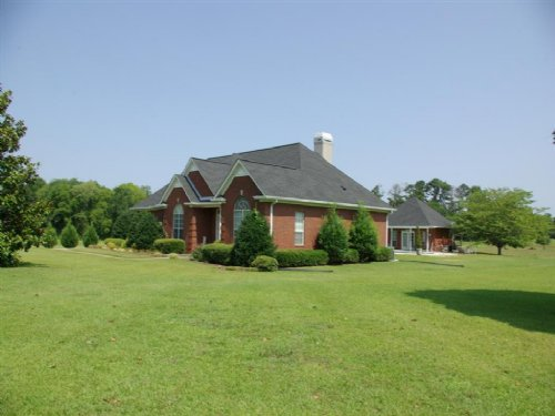Level 13.8 Acres With Home & Pool : Odenville : Saint Clair County : Alabama