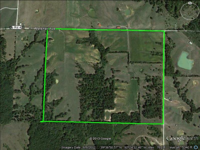 190 Acres With 90 Tillable : Excello : Macon County : Missouri