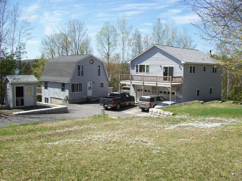 Manhanock Pond Waterfront Estate : Sangerville : Piscataquis County : Maine