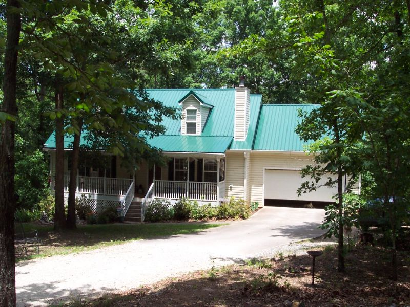 4 Br 2.5 Ba Home On 5 Wooded Acres : Taylorsville : Bartow County : Georgia