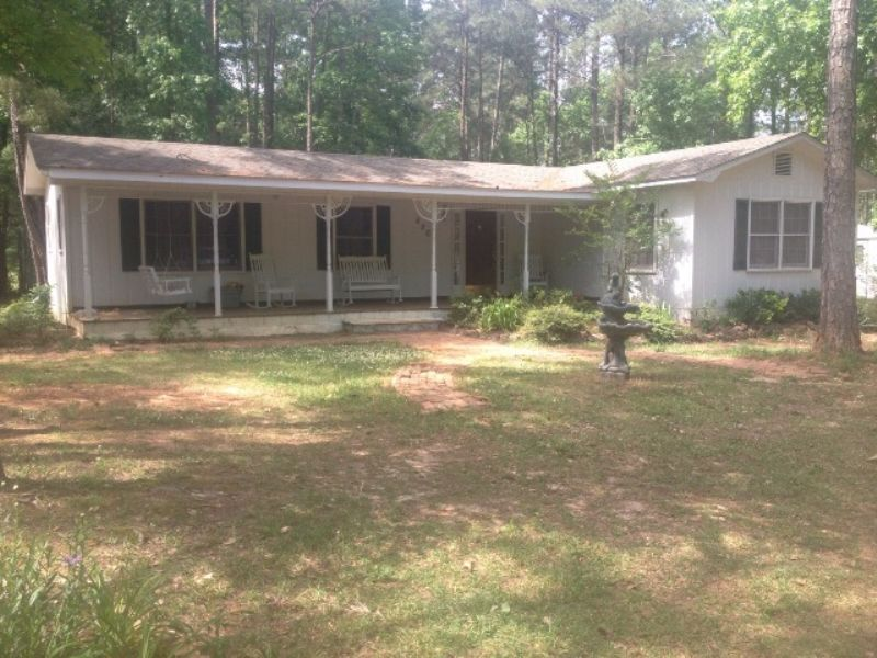 1 Br/1ba House On 5+/- Ac In Troy : Troy : Pike County : Alabama