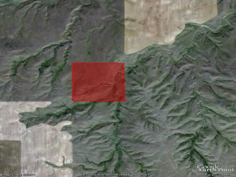 40 Acres Near Poplar : Poplar : Roosevelt County : Montana