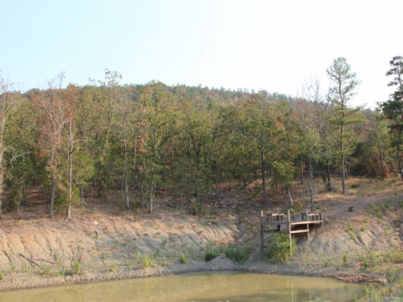 6.83 Acre Lake View Ranch : Clayton : Pushmataha County : Oklahoma