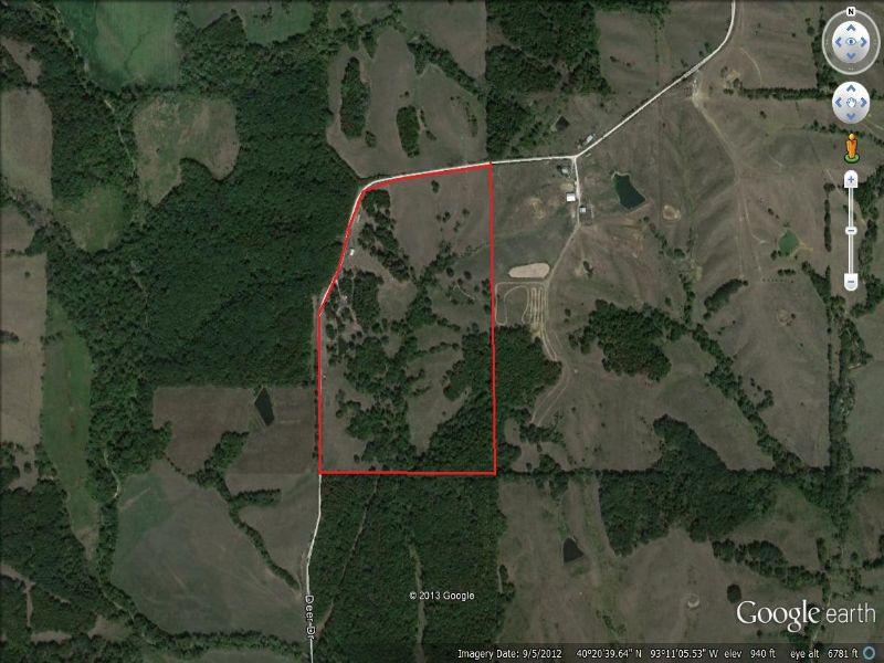 House And 58 Acres : Milan : Sullivan County : Missouri