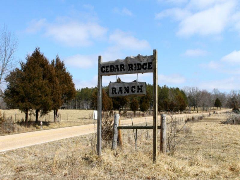 5.1 Acres Cedar Ridge Ranch : Rolla : Phelps County : Missouri