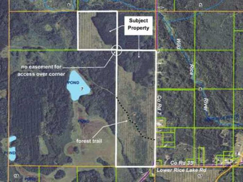 Clearwater, Laprairie, 1453807, 160 : Bagley : Clearwater County : Minnesota