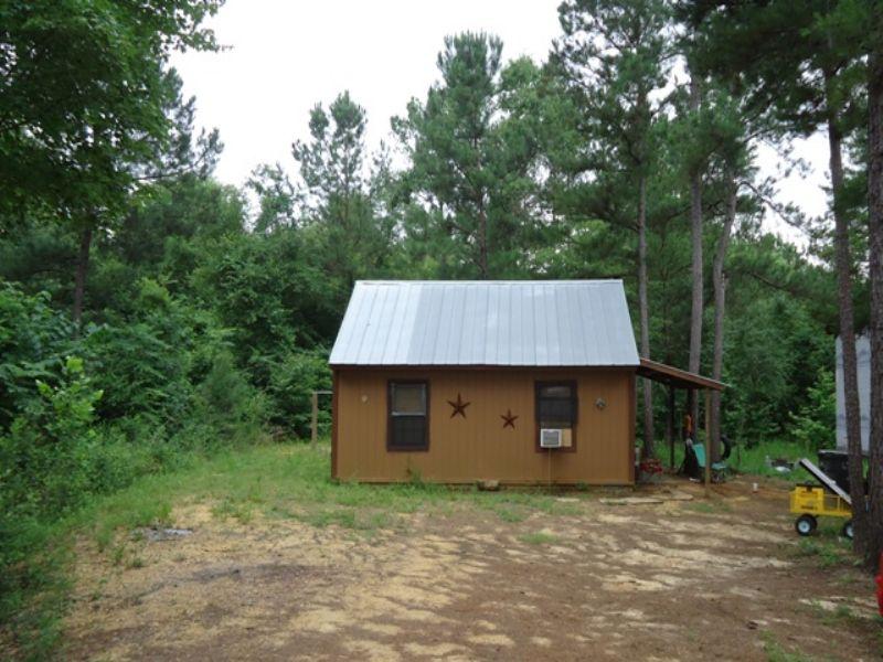 1 Br/1ba Cabin On 5+/- Acres : Goshen : Pike County : Alabama