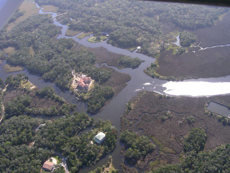 Waterfront Estuary Homesites : Homosassa : Citrus County : Florida