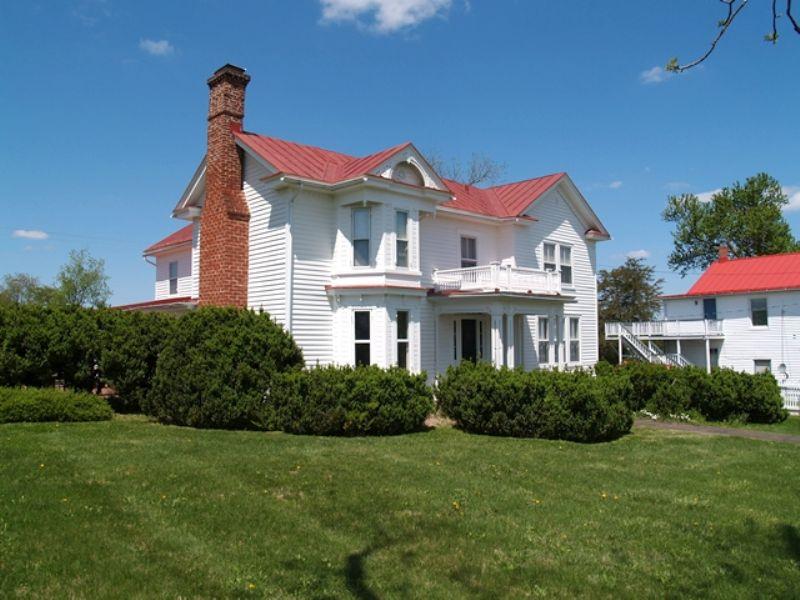 Rochelle Va Historic Home And Farm : Rochelle : Madison County : Virginia