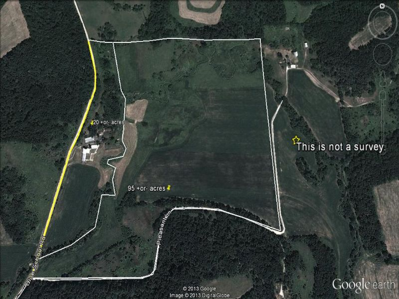 Exceptional 95+- Acre Building Site : Fennimore : Grant County : Wisconsin