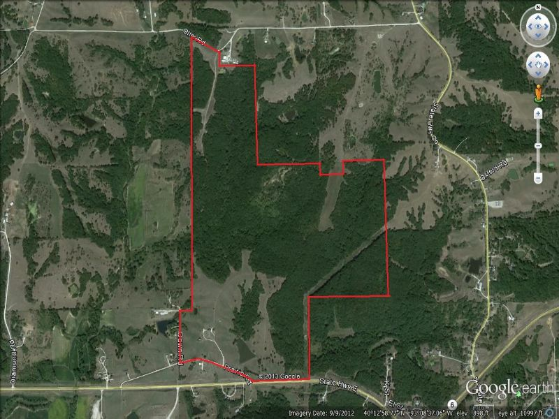 372 Acres, Hunting Cabin, Home : Milan : Sullivan County : Missouri