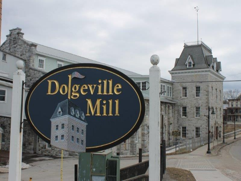 Mill With Hydroelectric Generator : Dolgeville : Herkimer County : New York