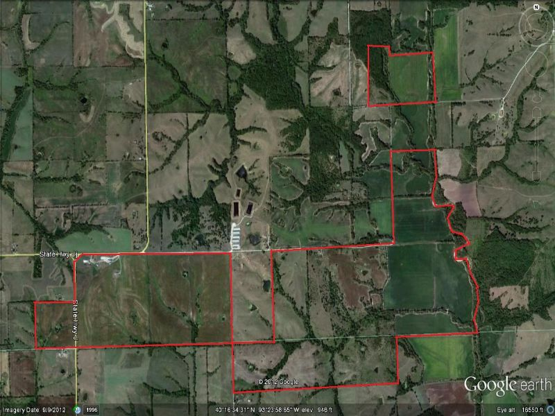 1049 Acres And 4 Houses : Harris : Mercer County : Missouri