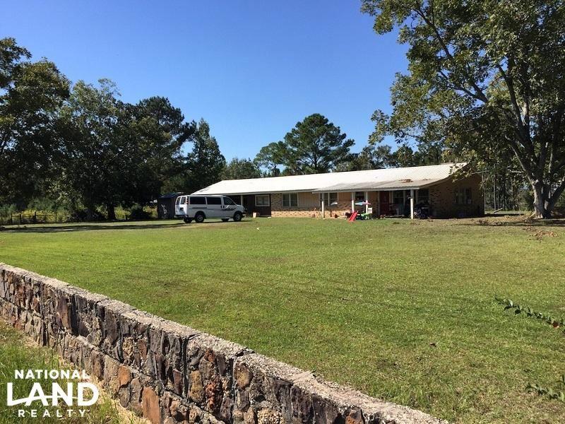 Whitehouse Fork Home Timber & Hunti : Bay Minette : Baldwin County : Alabama
