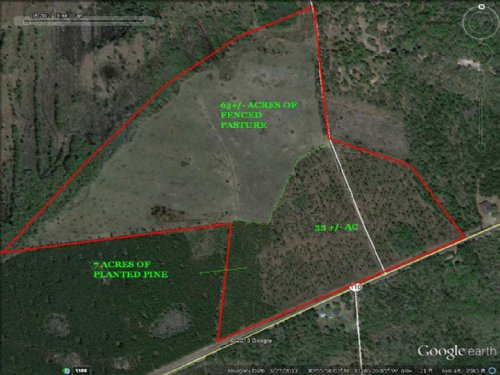 105 Acre Ranch : Woodbine : Camden County : Georgia