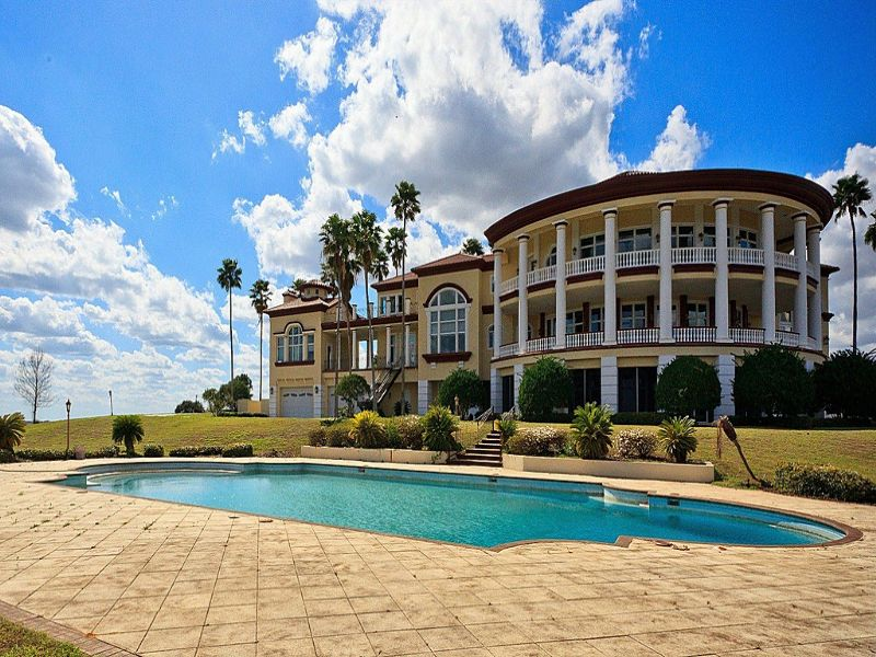 Bank Owned Auction - Luxury Estate : Groveland : Lake County : Florida