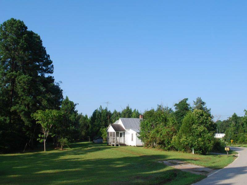 35 Acres With Farm House In Union : Union : Union County : South Carolina