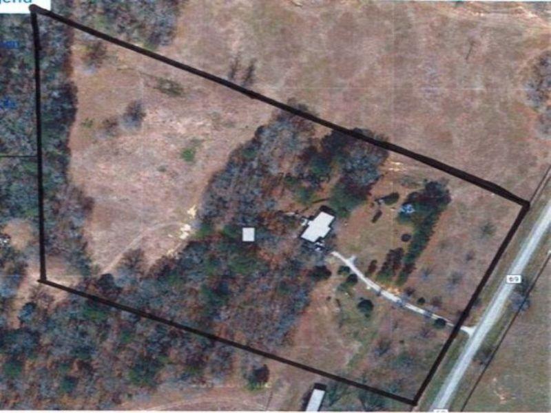 4br/2.5ba Home On 10 +/- Ac : Banks : Pike County : Alabama
