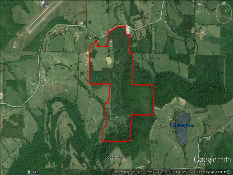257+/- Acre Ranch In Marshall : Marshall : Searcy County : Arkansas