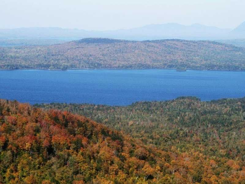 Burnt Jacket Mountain : Beaver Cove : Piscataquis County : Maine