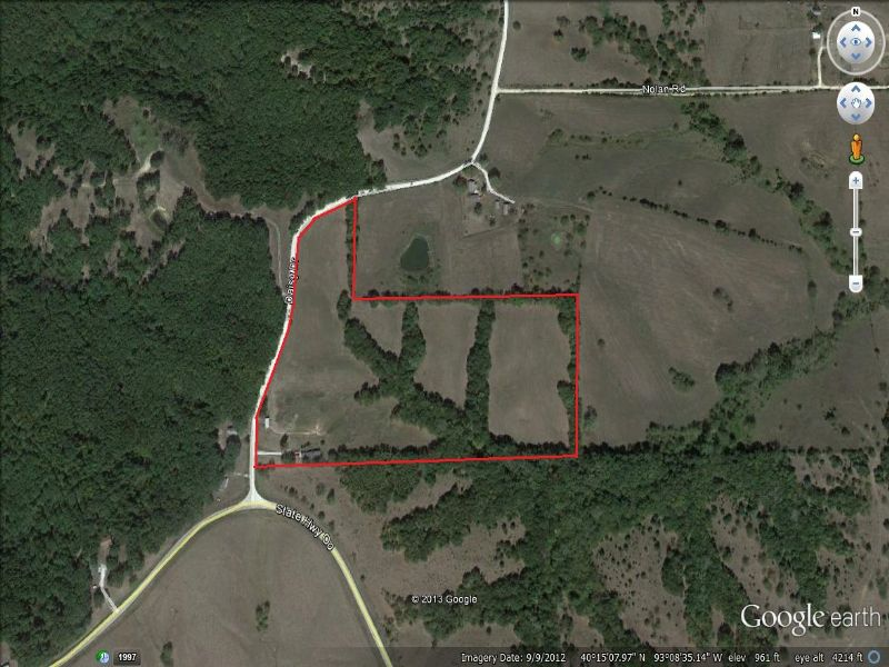 20 Acres : Milan : Sullivan County : Missouri