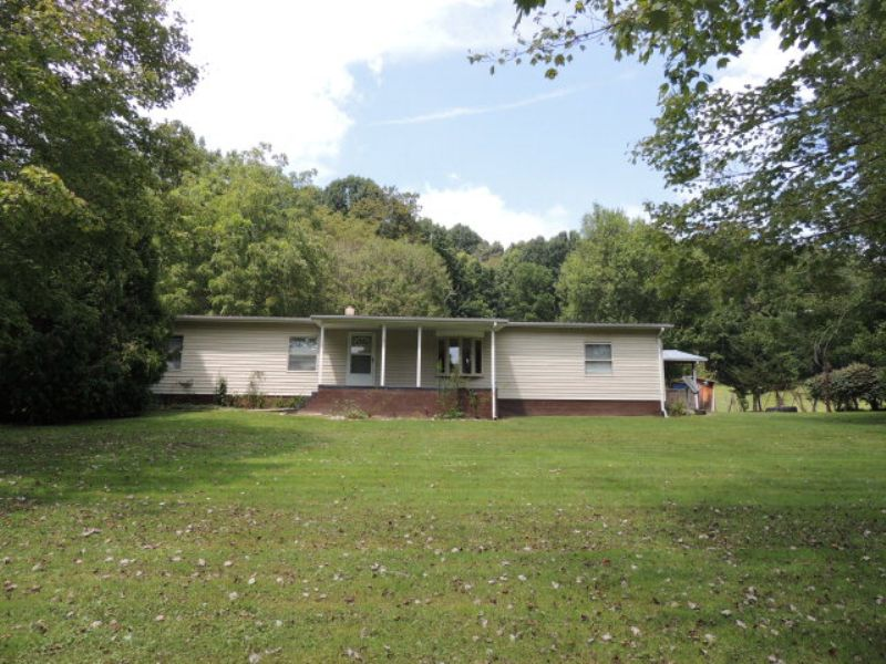 3 Bd 2 Bth Doublewide On 5.97 Acres : Elk Creek : Grayson County : Virginia