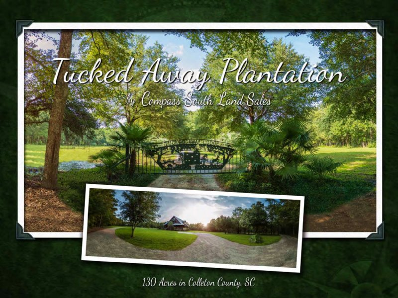 Tucked Away Plantation : Walterboro : Colleton County : South Carolina