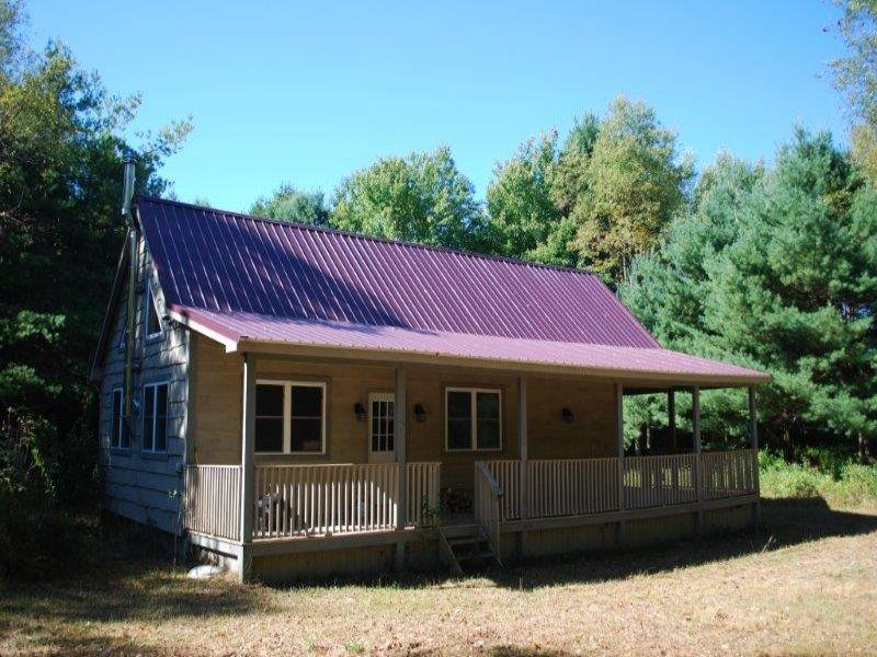 81 Acres Cabin Lodge Salmon River : Altmar : Oswego County : New York