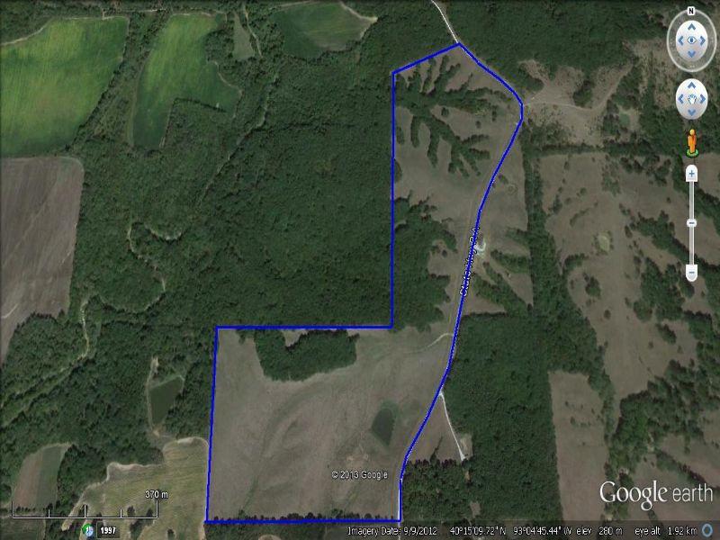 96 Acres Of Prime Hunting : Milan : Sullivan County : Missouri