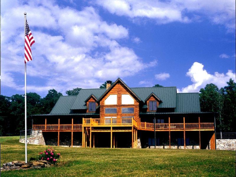 8,300 Sq.ft. Lodge On 97 Acres : Bee Branch : Van Buren County : Arkansas