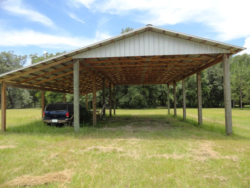 5 Ac With Pole Barn And Storage Farm For Sale Ft