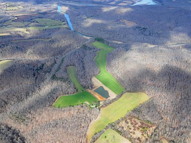98 Acres M/l With Brick House : Columbia : Adair County : Kentucky