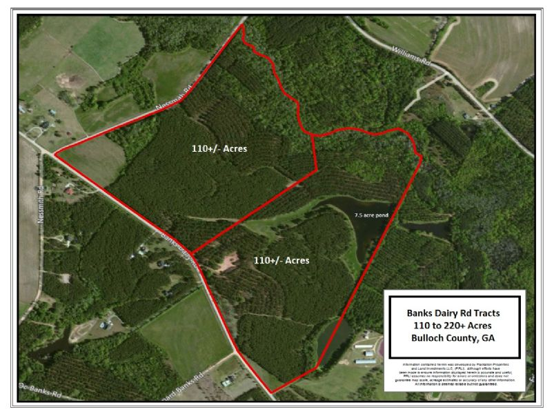 110+/-smith Healey Farm Banks Dairy : Statesboro : Bulloch County : Georgia