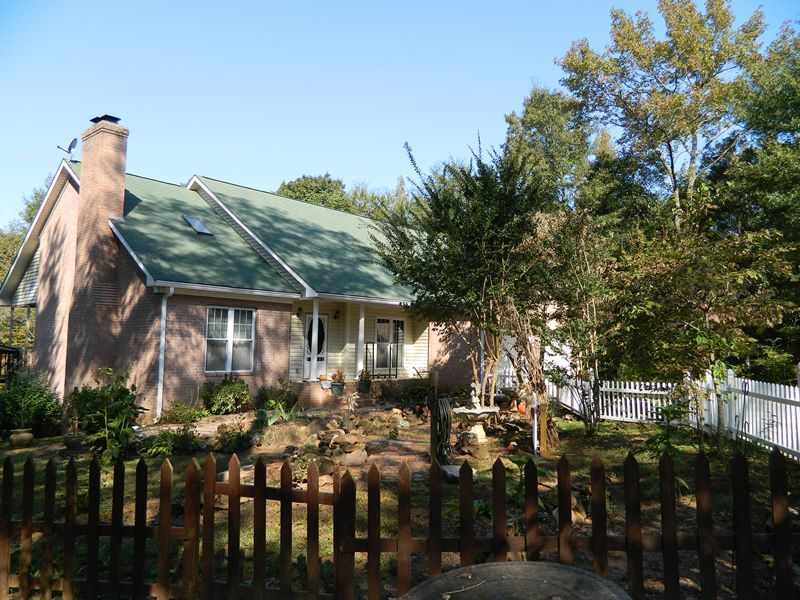 Great Mini-farm On 26.25 Acres : Crawford : Oglethorpe County : Georgia