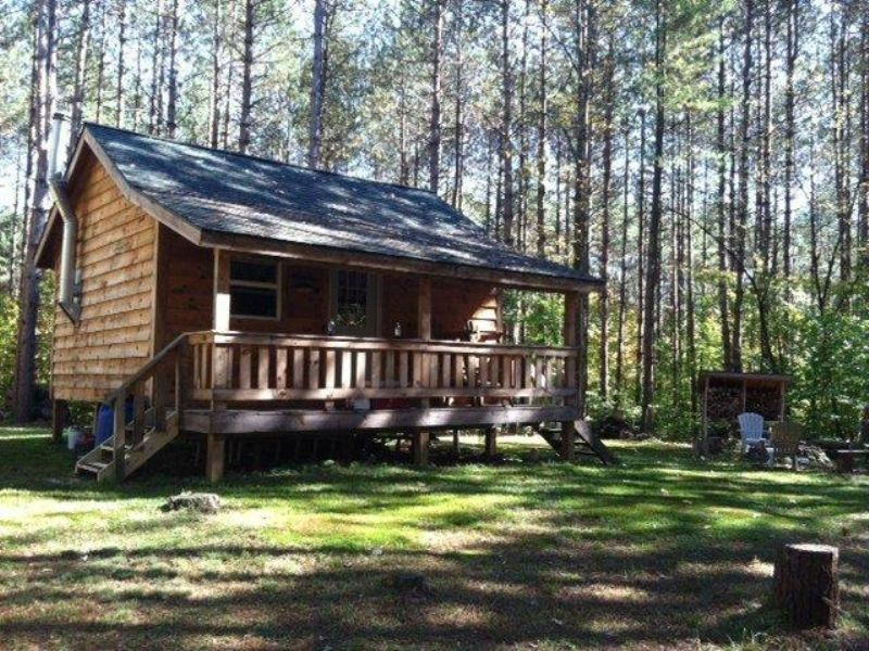 Cabin Near State Forest And Lakes : Amboy : Oswego County : New York