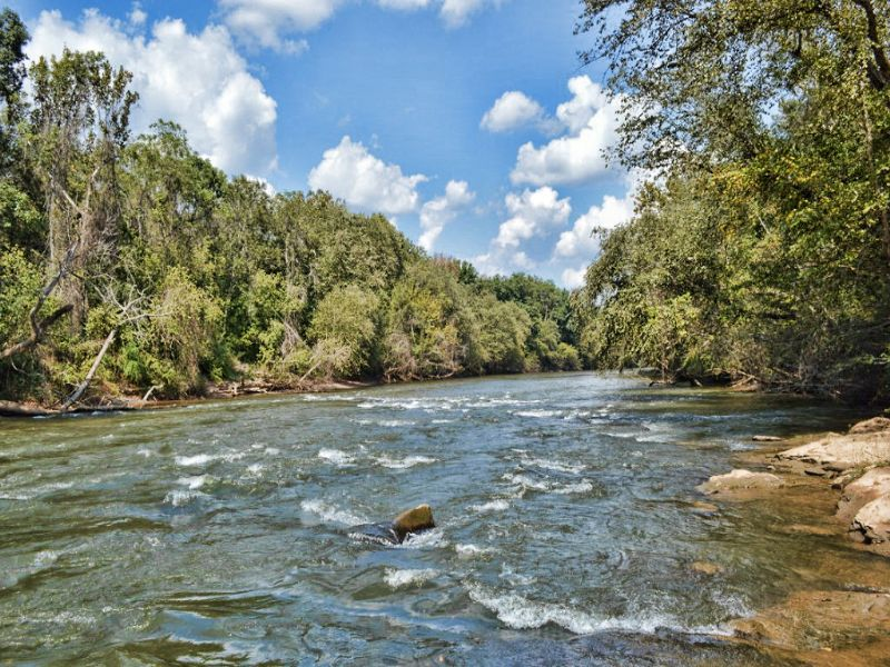 84 Acres On The Broad River : Cliffside : Rutherford County : North Carolina